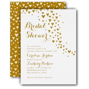 All Heart Bridal Shower Invitation Icon