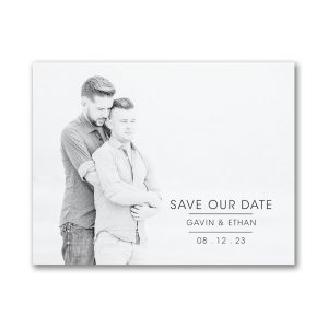 Celebrated Date Save the Date Magnet