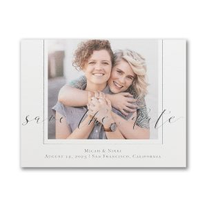 Encircled Love Save the Date Magnet