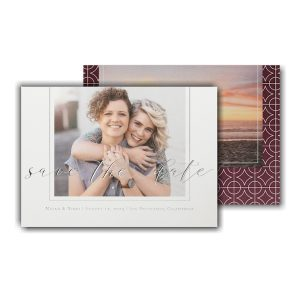 Encircled Loved Save the Date Card Icon