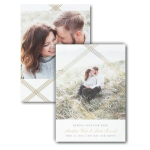 Encompassed Romance Save the Date Card Icon
