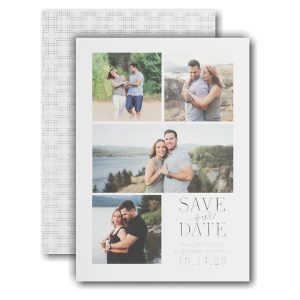 Endearing Collage Save the Date Card Icon
