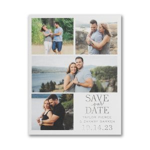 Endearing Love Small Save the Date Card