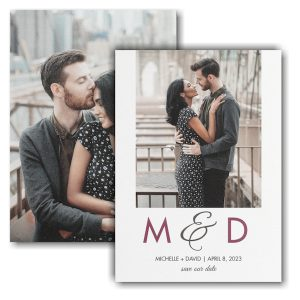 Endless Romance Save the Date Card