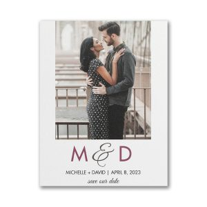 Endless Romance Save the Date Magnet Icon