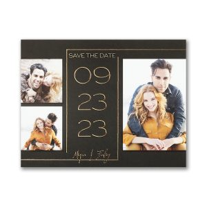 Engaging Romance Save the Date Magnet Icon