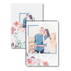 Floral Garden Save the Date Card Icon