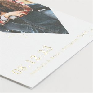 Forever Diamonds Save the Date Card alt