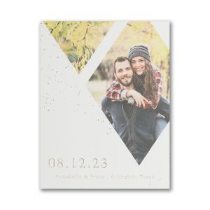 Forever Diamonds Save the Date Magnet Icon