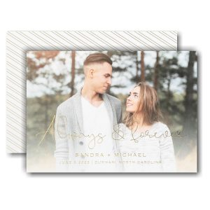 Forever Yours Save the Date Card Icon