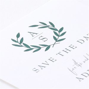 Ornate Date Save the Date Card alt