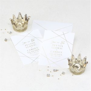 Simply Chic Save the Date Card alt 2