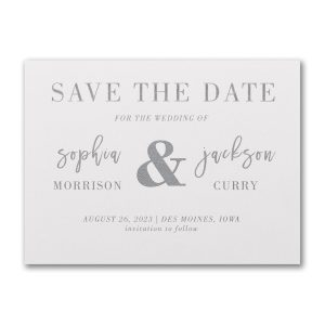 Simply Engaging Save the Date Card Icon