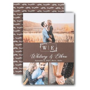 Tender Moments Save the Date Card Icon