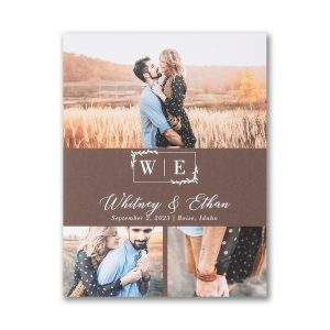 Tender Moments Small Save the Date Card Icon