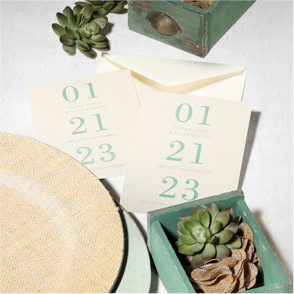 The Big Day is Coming Save the Date Card alt 2