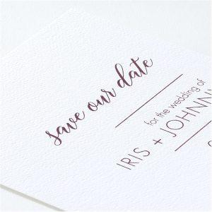 Ultimate Love Save the Date Card alt