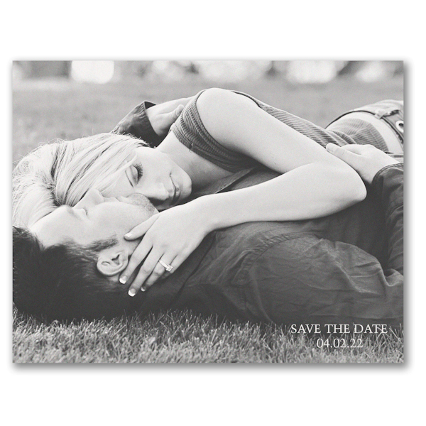 About Us Save the Date Postcard