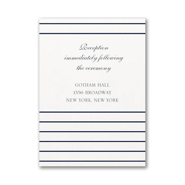 Anchored Love Reception Card