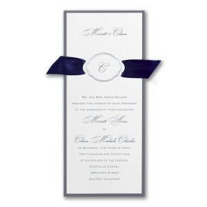 Appealing Elegance Wedding Invitation Icon