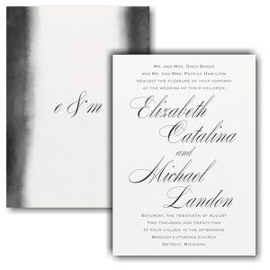 Artistic Type Wedding Invitation Icon