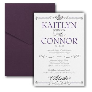 Avenue of Dreams Pocket Wedding Invitation Icon