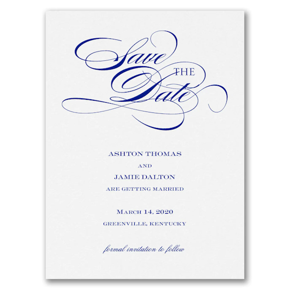 Be Sure to Save the Date Card
