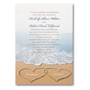 Beach Bliss ValStyle Wedding Invitation Icon