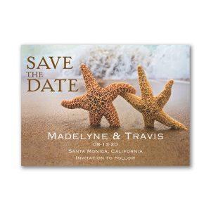 Beach Loving Save the Date Magnet