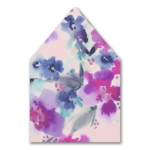 Beautiful Blooms Envelope Liner