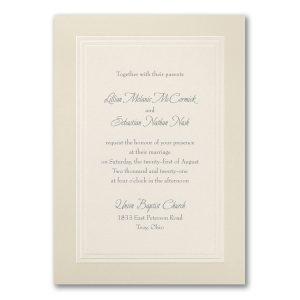 Beautiful Borders Wedding Invitation Icon