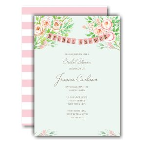 Beautiful Bridal Banner Bridal Shower Invitation Icon
