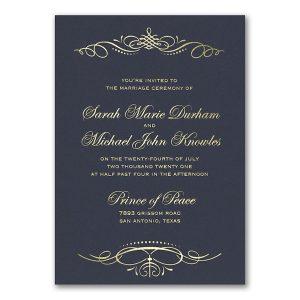 Beautiful Crest Wedding Invitation Icon