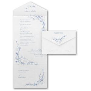 Beautiful Moments Seal 'n Send Wedding Invitation Icon
