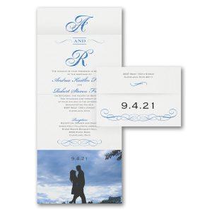 Beloved Photo Seal 'n Send Wedding Invitation Icon