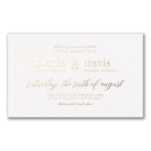 Bevel Beauty in White Wedding Invitation Icon