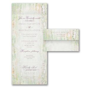 Birch Forest Seal 'n Send Wedding Invitation Icon