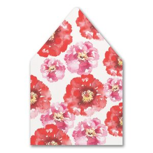 Bloom Bright Layered Pocket Envelope Liner
