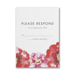 Bloom Bright Layered Pocket Response Card