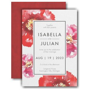 Bloom Bright Wedding Invitation Icon