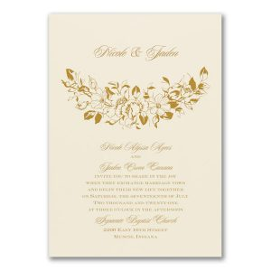 Boho Charm Wedding Invitation Icon