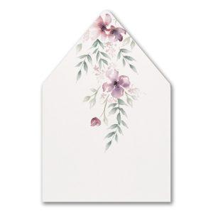 Boho Sophistication Envelope Liner
