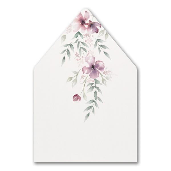 Boho Sophistication Layered Pocket Envelope Liner