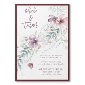 Boho Sophistication Layered Wedding Invitation Icon