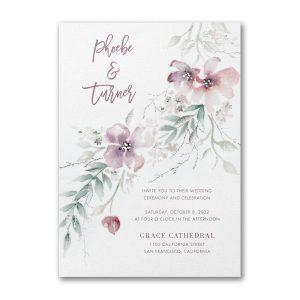 Boho Sophistication Wedding Invitation Icon
