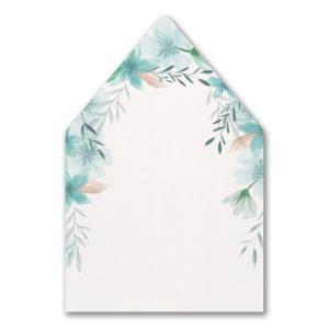 Botanic Beauty Layered Pocket Envelope Liner