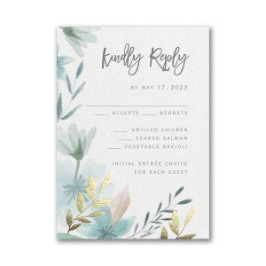 Botanic Beauty Layered Response Card