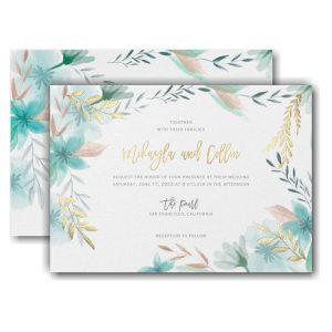 Botanic Beauty Wedding Invitation Icon