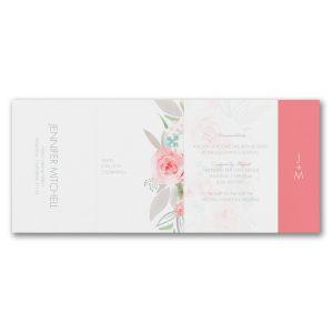 Botanical Bliss All in One Wedding Invitation alt