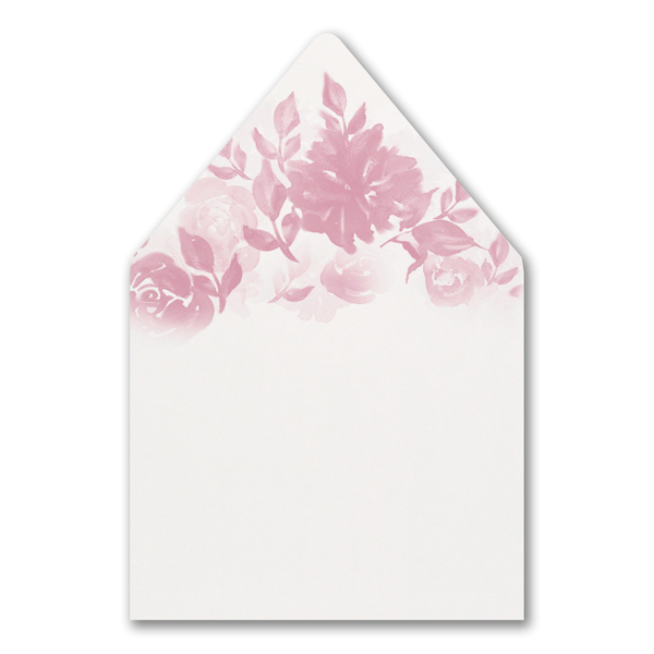 Botanical Elegance Layered Pocket Envelope Liner